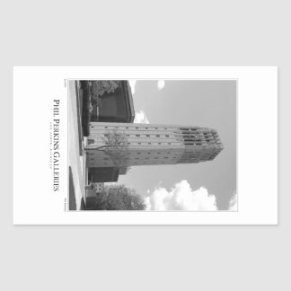 University of Michigan Clock Tower Rectangle Sticker