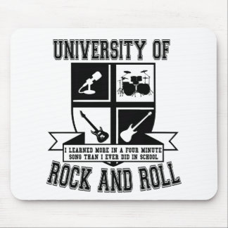 University of Rock & Roll Mouse Pad