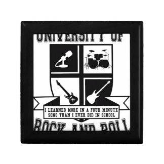 University of Rock & Roll Small Square Gift Box
