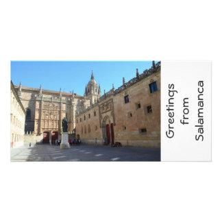 University of Salamanca Photo Card Template