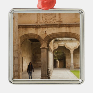 University of Salamanca Silver-Colored Square Decoration