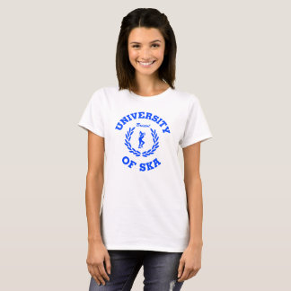 University of Ska Bristol ladies blue T-Shirt