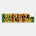 University of South Vietnam Sticker Bumper Sticker