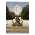 University of Texad Clock Tower. Greeting Card