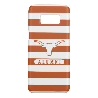 University of Texas | Alumni Striped Pattern Case-Mate Samsung Galaxy S8 Case