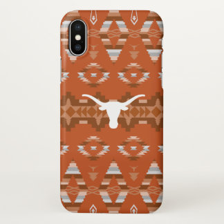 University of Texas | Native Tribal Pattern iPhone X Case