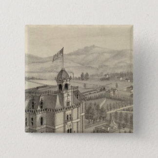 University of the Pacific 15 Cm Square Badge