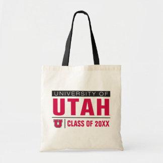 University of Utah Class Year Budget Tote Bag