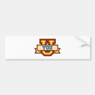 University of You Bumper Sticker