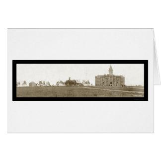 University Wyoming Laramie Photo 1908 Card