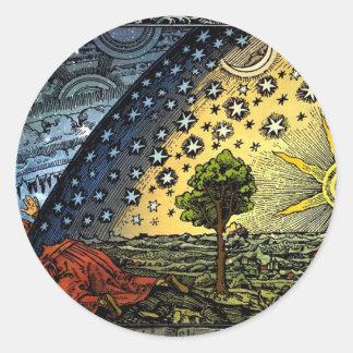 Universum Round Sticker