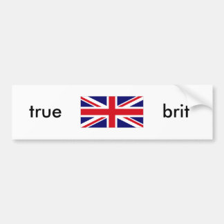 UNKG0001, true , brit Bumper Sticker