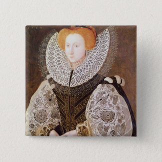 Unknown Girl, aged 20, 1587 15 Cm Square Badge