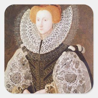 Unknown Girl, aged 20, 1587 Square Sticker