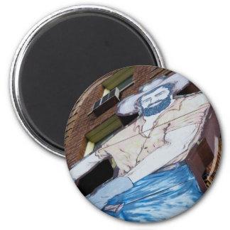 Unknown Prospector 6 Cm Round Magnet