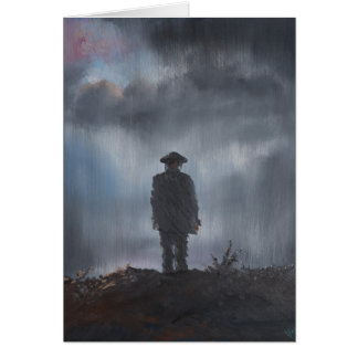 Unknown Soldier first world war 2014 Card
