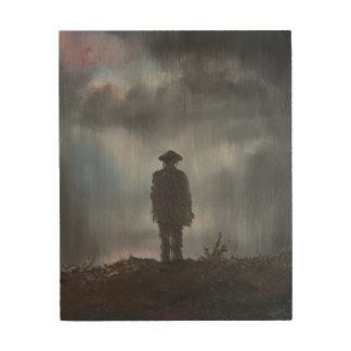 Unknown Soldier first world war 2014 Wood Print