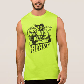 Unleash The Beast - Bodybuilding Gym Shirt