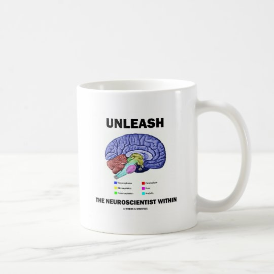 Unleash The Neuroscientist Within (Brain Anatomy) Coffee Mug