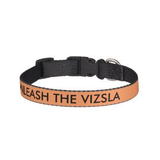 UNLEASH THE VIZSLA collar Pet Collar