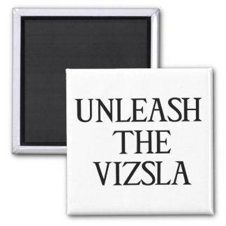 UNLEASH THE VIZSLA (Large Print) Magnet