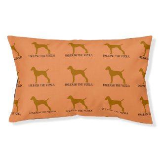 UNLEASH THE VIZSLA pillow