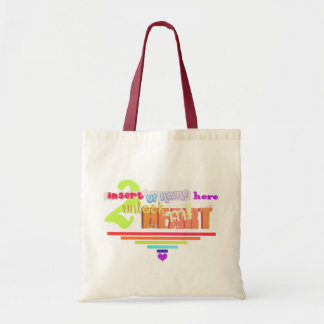 Unlock my heart budget tote bag
