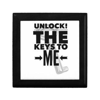 Unlock! the Keys to Me Jewellery Box
