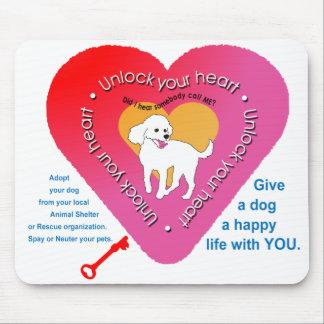 Unlock Your Heart Mousepad