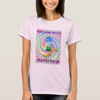 UNLOCK YOUR PERCEPTION, LONG STRANGE TRIP LADIES T T-Shirt