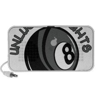 Unlucky Eights Mini Speakers