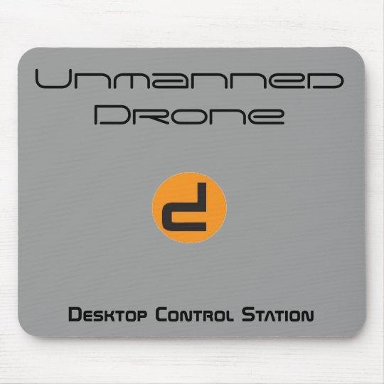Unmanned Drone Desktop Control Station Mouse Pad