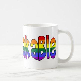 """""""Unmistakable"""" GLBT Pride Mug"""