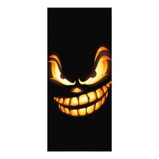 unmutiger-expression-852549 SCARY CARTOON SMILE BL Rack Cards