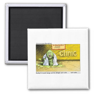 Unnatractive Doctor Funny Gifts & Collectibles Square Magnet