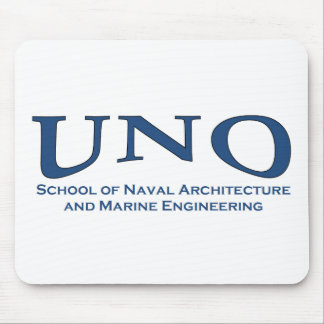 UNO Naval Architecture Mouse Pad