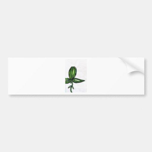 Uno Tri Plant Bumper Sticker