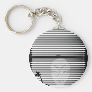 Unonymous Blind ® Youra Media Basic Round Button Key Ring