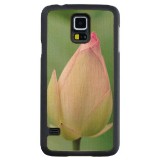 Unopened Water Lily Bulb, Durban Botanical Carved Maple Galaxy S5 Case