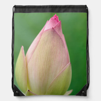 Unopened Water Lily Bulb, Durban Botanical Drawstring Bag