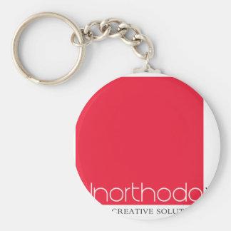 Unorthodox Branded Keychain