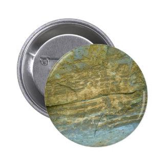 Unpolished granite stone pinback buttons
