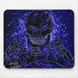 Unraveled in Blue Mousepad