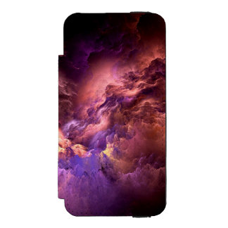 Unreal Purple Clouds Incipio Watson™ iPhone 5 Wallet Case