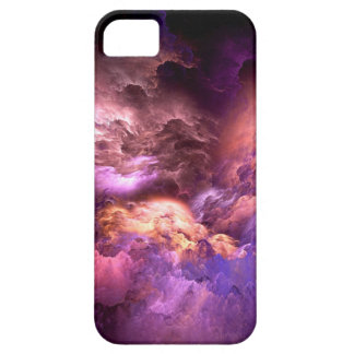 Unreal Purple Clouds iPhone 5 Cover