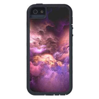 Unreal Purple Clouds Tough Xtreme iPhone 5 Case