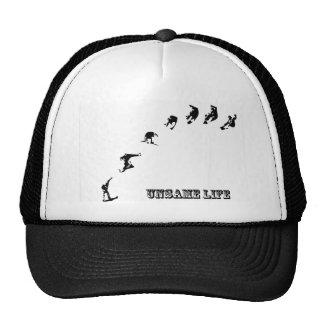 Unsame Life Snowboarder 360 Trucker Hat