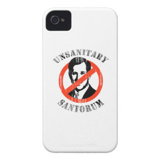 Unsanitary Santorum Faded.png iPhone 4 Cases