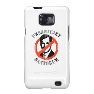 Unsanitary Santorum Faded.png Samsung Galaxy S2 Cases