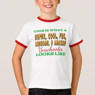 Unschool Shirt   Awesome Unschooler
